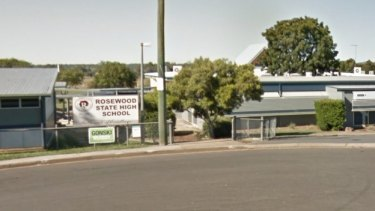 Rosewood State High School went into lockdown after the students were injured.