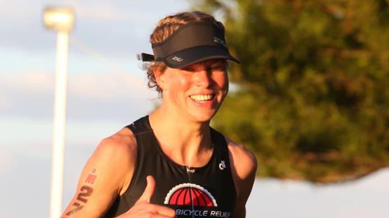 Triathlete Anna Gurnhill.
