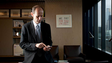 """ANZ chief executive Shayne Elliott on working during the pandemic: """"You spend your whole life on a phone."""""""
