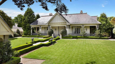 The Toorak mansion bought for $18.5 million and razed. The empty block is now on the market for $40 million.