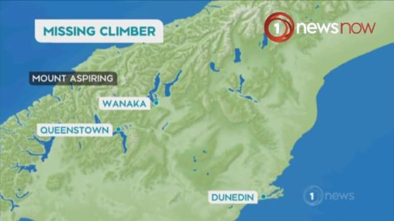 Australian climber Terry Harch missing on Mount Aspiring has been found.