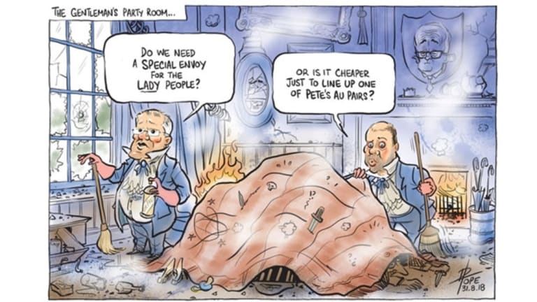 David Pope's cartoon for Friday, August 31.