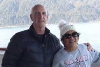 Mr Smith and his wife were on board the Ruby Princess cruise ship celebrating his 60th birthday when he contracted COVID-19.