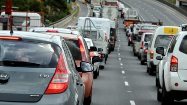 Traffic congestion is expected to get much worse on the Centenary Highway.