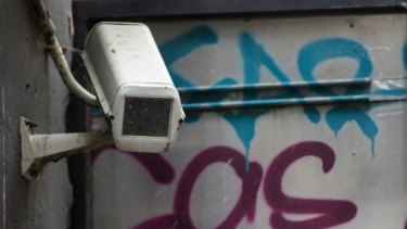 Surveillance cameras are now a fact of life in the CBD.