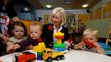 Dr Dimity Dornan founded the Hear and Say Centre, which helps fit children with cochlear implants.