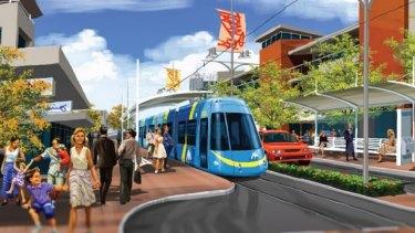 MAX was the former Barnett Government's broken light rail promise.