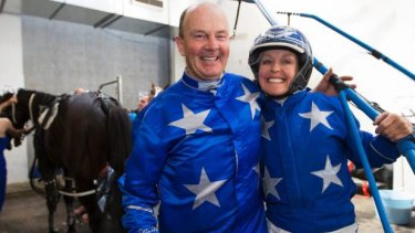 Mark Purdon and Natalie Rasmussen won the Inter Dominion trotters and pacer double on Saturday.