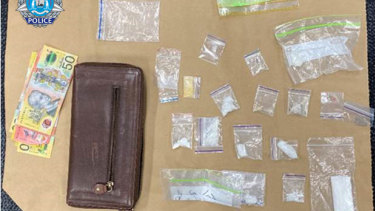 Other drugs and items seized during a raid in the South West by Bunbury detectives.