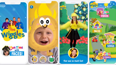 The Wiggles interactive app created by Two Bulls.