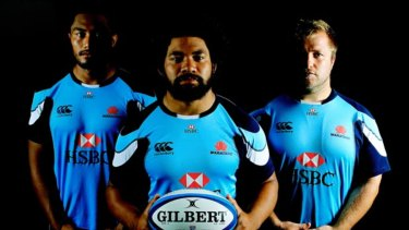 Sekope Kepu, Tatafu Polota-Nau and Benn Robinson are three Waratahs stalwarts.