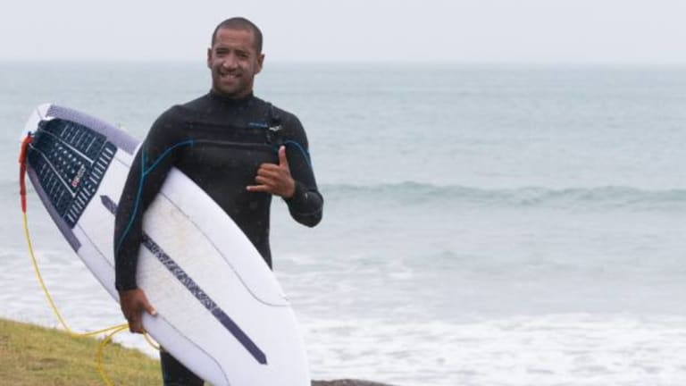 Professional surfer Daniel Kereopa says Albatross Point is generally surfed by invitation only, accessed by getting a landowner's permission to reach the beach or travel by water.