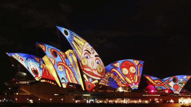 The Vivid festival is one of the cultural events that receives funding from Destination NSW, the state government's tourism and events agency.