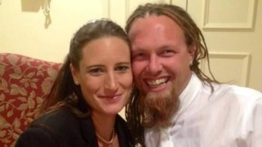 Emma Jayet and James Roberts. Jayet's son, Leon Jayet-Cole, died in 2015 from serious head injuries causing cardiac arrest.