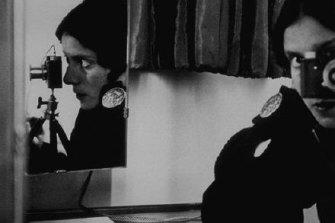 "Ilse Bing's ""Self portrait with Leica"" (1931)."