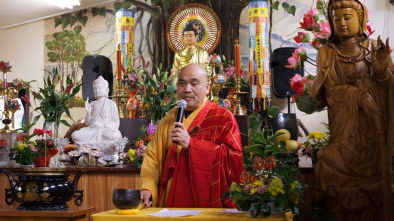 Master Dao stood down as president of the Linh Son Buddhist Society in July.