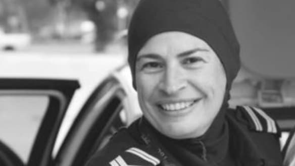A line to draw: Muslim officer rises above online abuse