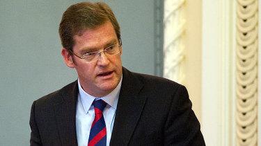 LNP MP John McVeigh is standing down.