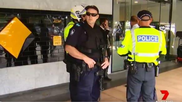 Bank bomb hoax puts Toowoomba CBD in lock down