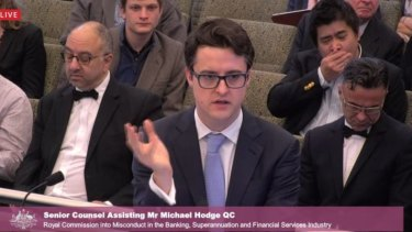 Listener fatigue setting in: Counsel assisting Michael Hodge on the final day of hearings.