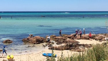 The occy was found in a popular Dunsborough swimming area.