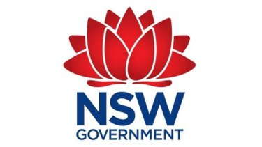 The NSW government's current logo: time for a rebranding, but at what cost?