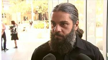 Mustapha Kara-Ali outside court on Thursday.