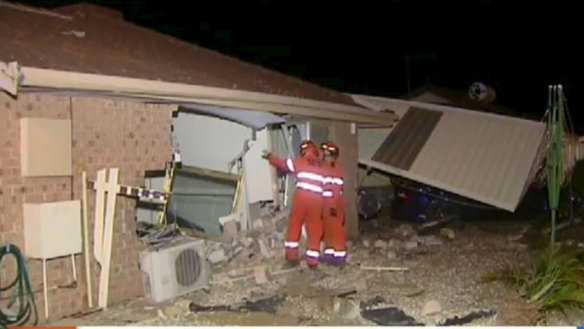 Gosnells great-grandmother injured after car ploughed into house