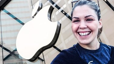 Belle Gibson signed a deal with Apple, which was cancelled after revelations about her fraud were revealed.