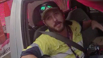 'It started to wrap around me': Driver fought off snake at 100km/h