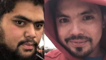 Vaatoa Chang, left, and Jonas Montealegre were killed in a car crash in Preston on February 4.