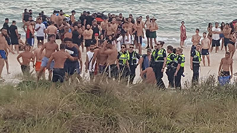 chelsea beach violence a group of youths bashed and robbed people