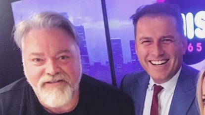 The Goss: Will Kyle Sandilands be sick for Karl Stefanovic's wedding?
