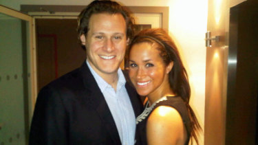 """Me and my lady in London,"" Trevor Engelson wrote of this photo in 2010."