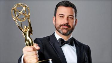 Jimmy Kimmel, host of the 2018 Emmy Awards.