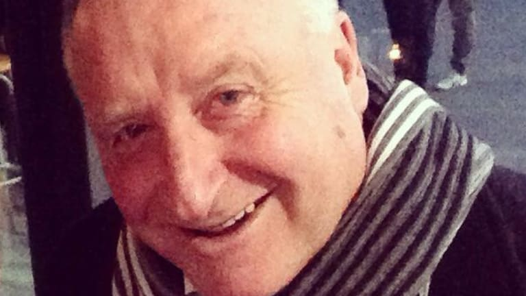 Rod Patterson who was injured during the Bourke Street terror attack.