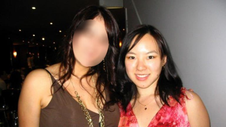 Pei-Jiun Cheah (right) - the victim of a home invasion and stabbing attack in Mount Colah overnight.