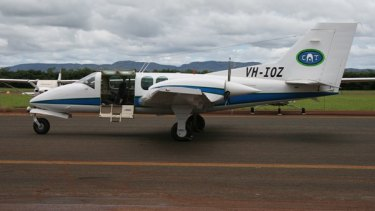 The plane, initially registered as VH-IOZ, was re-registered as VH-IAZ in March last year.