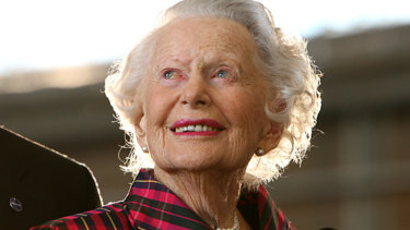 Aviation pioneer Nancy Bird Walton died in 2009, aged 93.