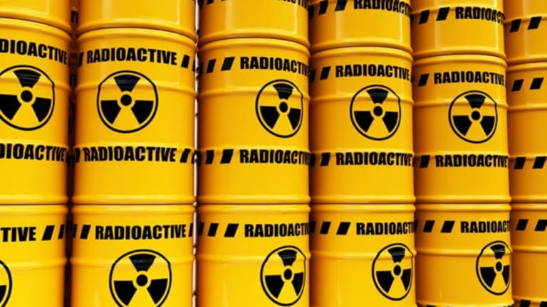 Two hundred drums of nuclear waste are to be stored at the facility.