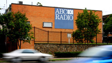 The former ABC Studios at Toowong.