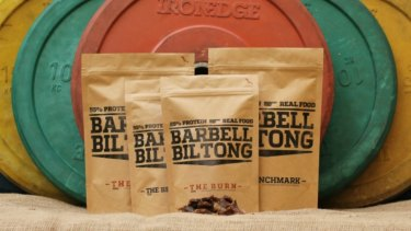 Barbell Biltong is available online and from many venues around Canberra.