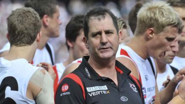 Lyon quit St Kilda with the best win-loss percentage record of any Saints coach in history.