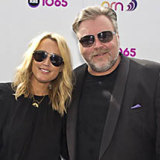 Sitting pretty: Jackie O and Kyle Sandilands.