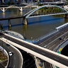 Residents of three suburbs to get 30 free trips across bridge during Metro work