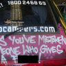 'No place for sexism': Wicked van slogans set to be run off the road