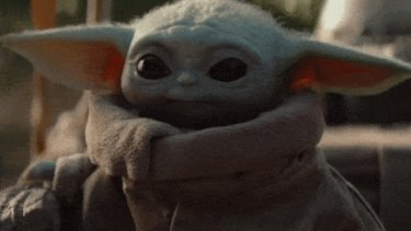 The Child, referred to by fans as Baby Yoda.
