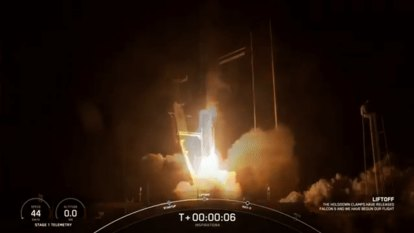 'Punch it!' In a first, SpaceX launches four non-astronauts into orbit