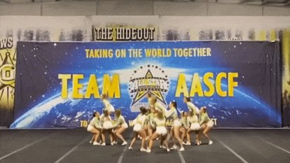 Aussie cheerleaders beat the world - from an empty Northcote gym