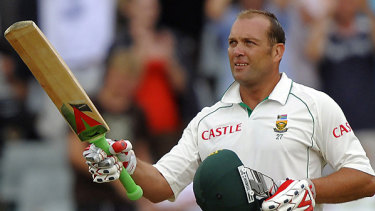 Jacques Kallis scored his 45 Test centuries.
